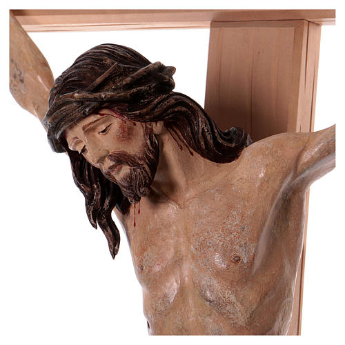 Crucifix with Jesus Christ statue Siena model dressed in a 124 cm | online  sales on HOLYART.com