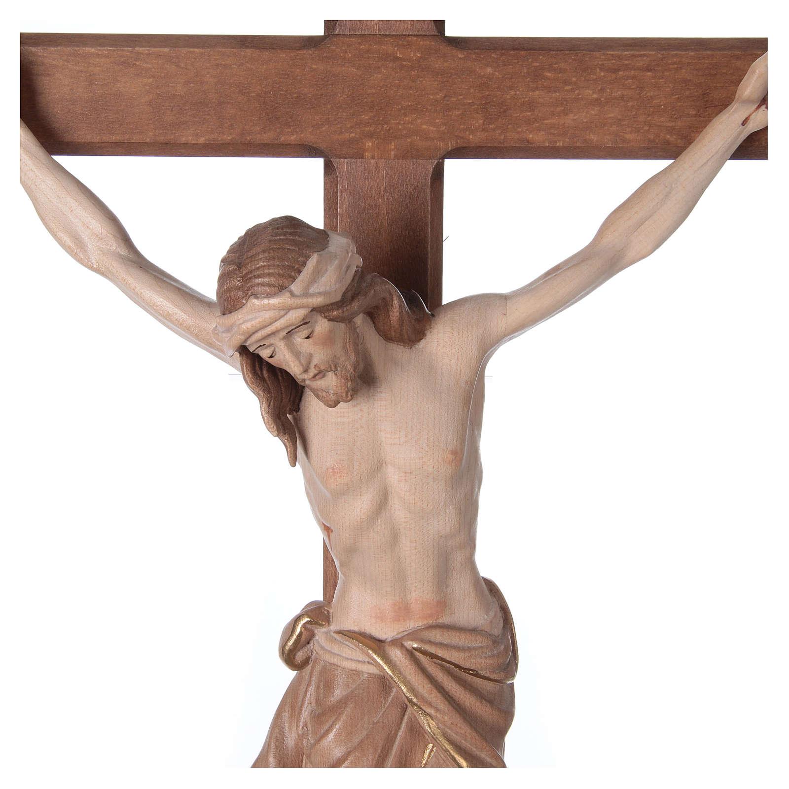 Crocefisso Cristo Siena croce brunita barocca brunito 3 colori 4