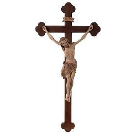 Crocefisso Cristo Siena croce brunita barocca brunito 3 colori s1