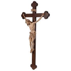 Crocefisso Cristo Siena croce brunita barocca brunito 3 colori s4