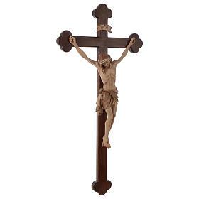 Crocefisso Cristo Siena croce brunita barocca brunito 3 colori s6