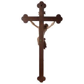 Crocefisso Cristo Siena croce brunita barocca brunito 3 colori s8