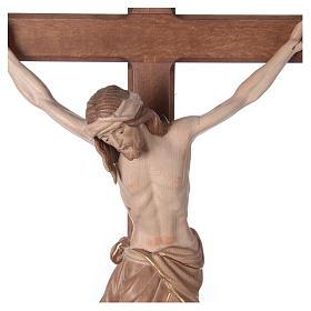 Crocefisso Cristo Siena croce brunita barocca brunito 3 colori s2