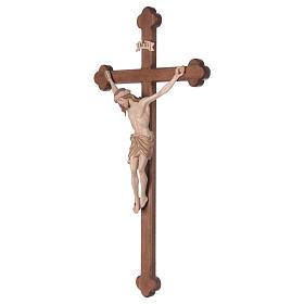 Crocefisso Cristo Siena croce brunita barocca brunito 3 colori s3
