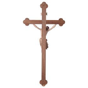 Crocefisso Cristo Siena croce brunita barocca brunito 3 colori s5