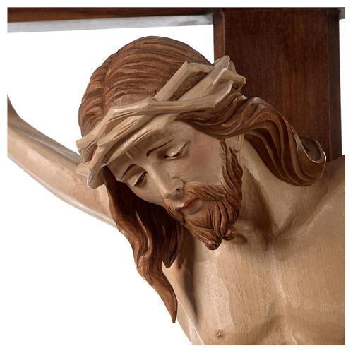 Crocefisso Cristo Siena croce brunita barocca brunito 3 colori 2