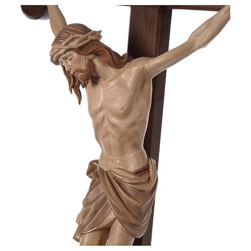 Crocefisso Cristo Siena croce brunita barocca brunito 3 colori 5