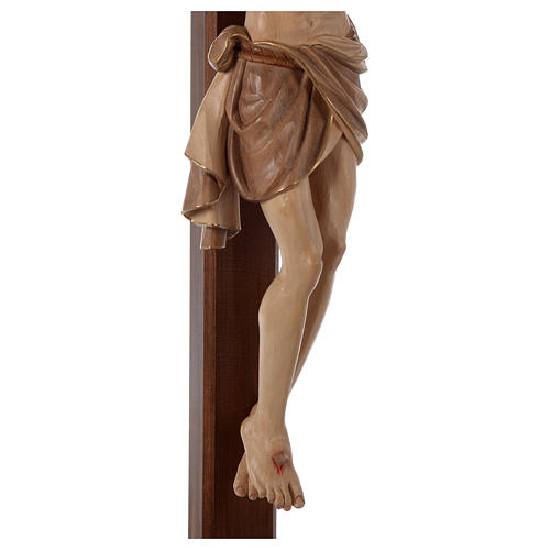 Crocefisso Cristo Siena croce brunita barocca brunito 3 colori 7