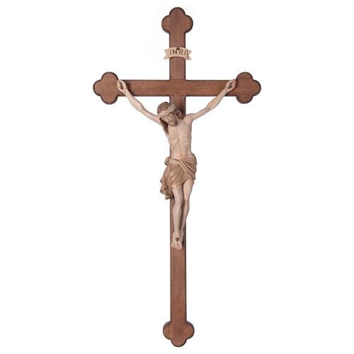 Crocefisso Cristo Siena croce brunita barocca brunito 3 colori 1