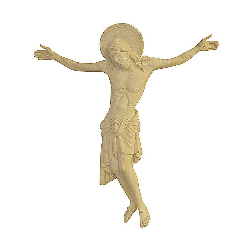 Corpo di Cristo Cimabue legno Valgardena naturale 4