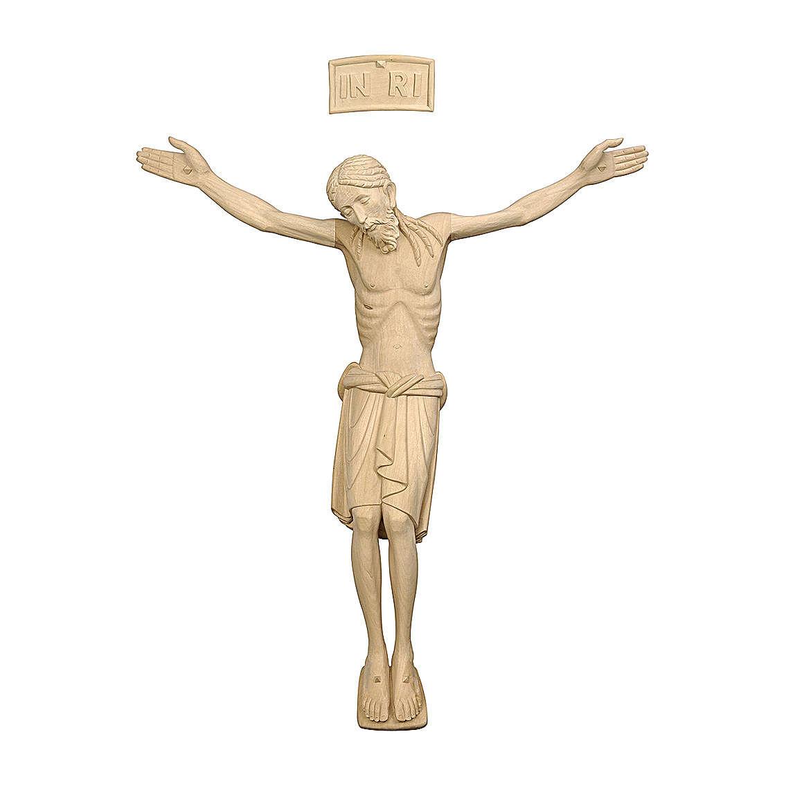 Corpo di Cristo San Damiano legno Valgardena naturale 4