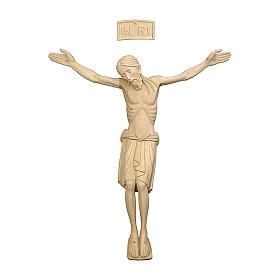 Corpo di Cristo San Damiano legno Valgardena naturale s1
