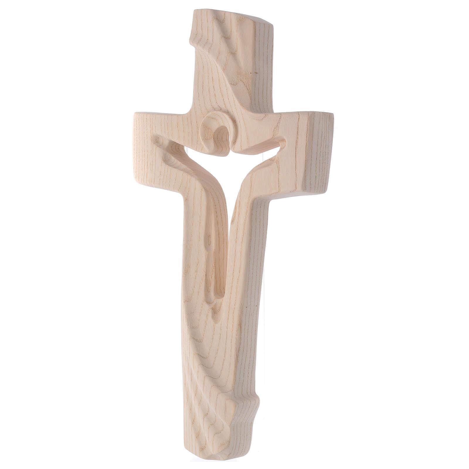 Croce ambiente Design Rustico Risorto legno frassino Valgardena 4