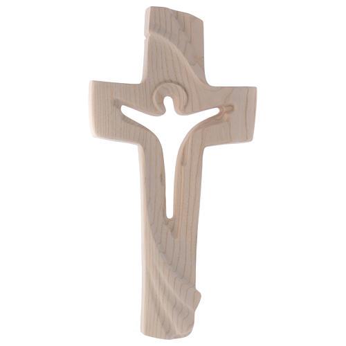 Croce ambiente Design Rustico Risorto legno frassino Valgardena 1