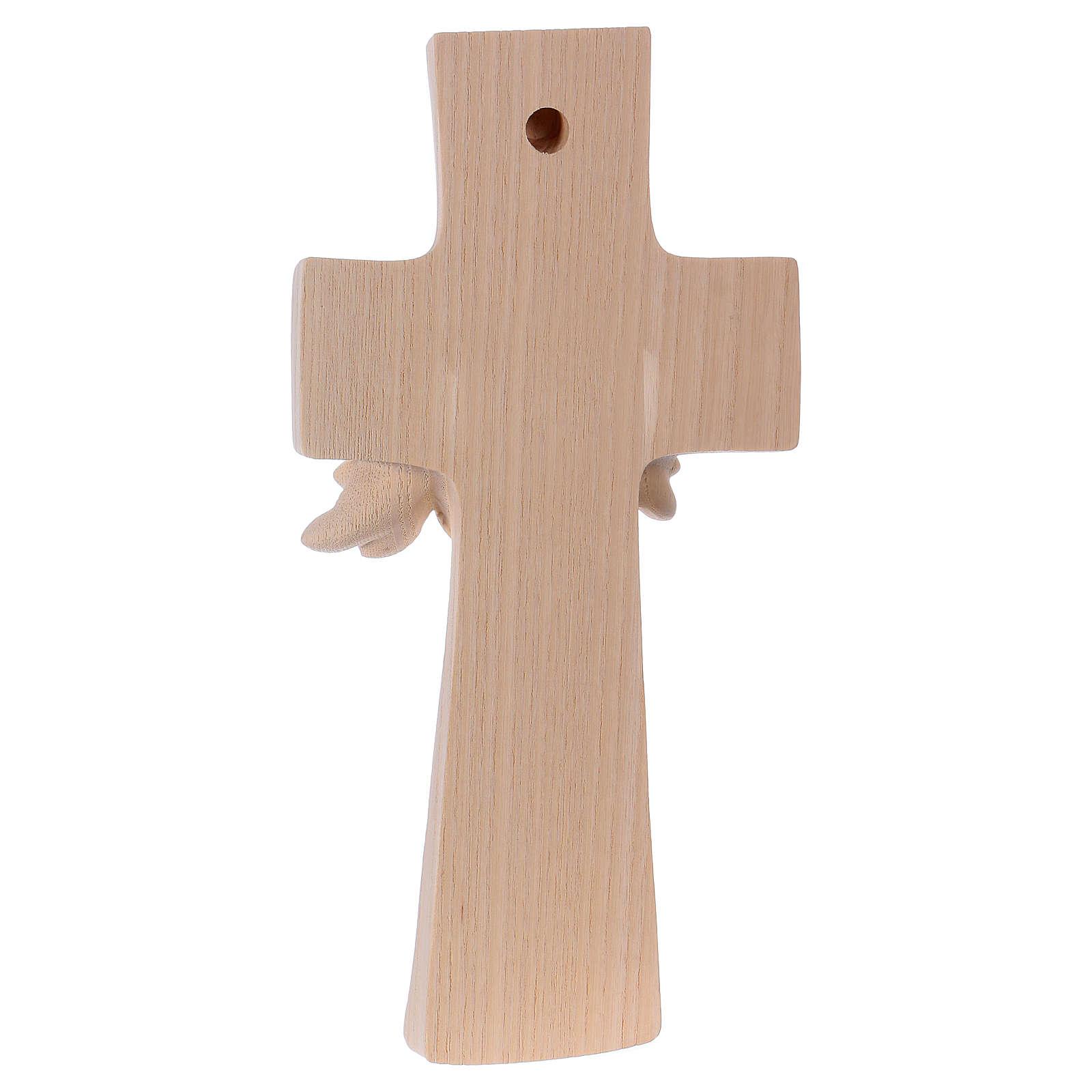 Croce ambiente Design Rustico Albero Vita legno Valgardena naturale 4