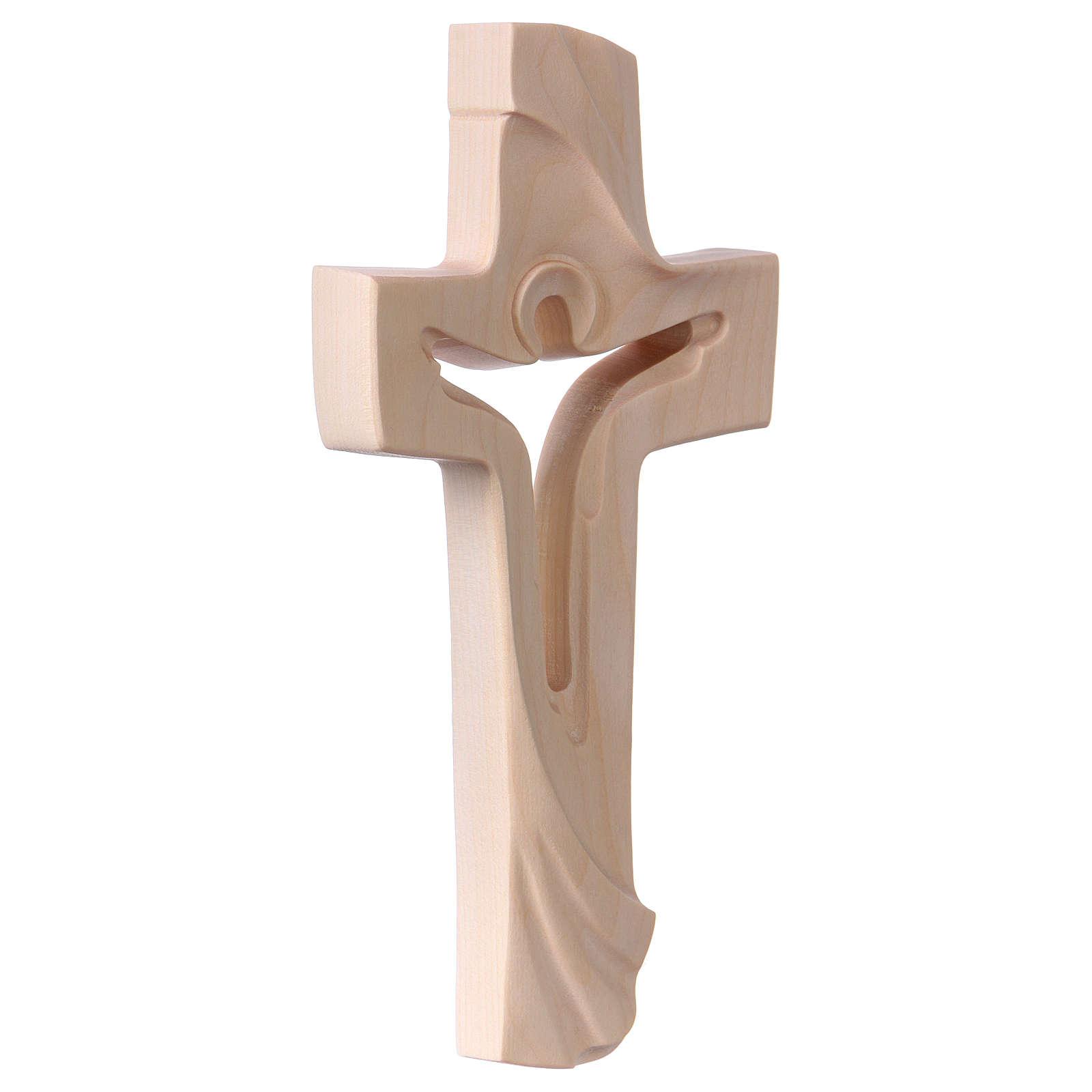Cruz de la Paz Ambiente Design madera Val Gardena natural 4