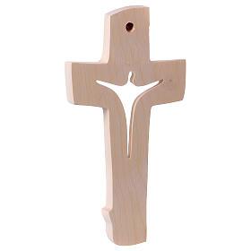 Cruz de la Paz Ambiente Design madera Val Gardena natural s4