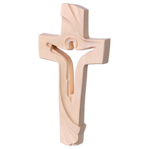 Croix de la Paix Ambiente Design bois Val Gardena naturel