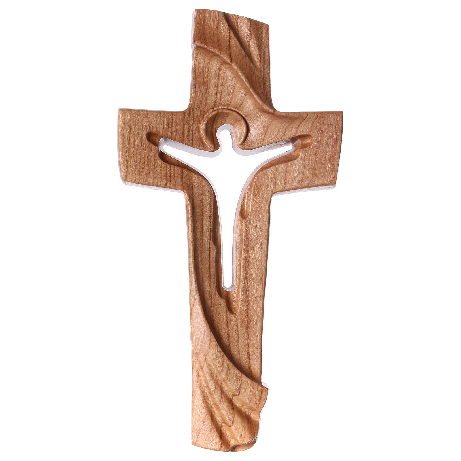 Croce della Pace Ambiente Design legno ciliegio Valgardena satinato 4