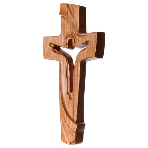 Croce della Pace Ambiente Design legno ciliegio Valgardena satinato 2
