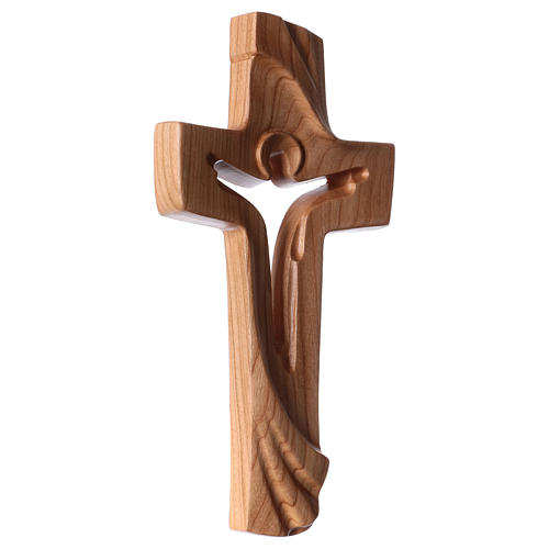 Croce della Pace Ambiente Design legno ciliegio Valgardena satinato 3