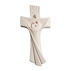 Croce della famiglia Ambiente Design legno Valgardena naturale s1