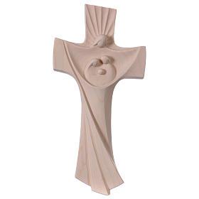 Cruz da Família Ambiente Design madeira Val Gardena natural s1