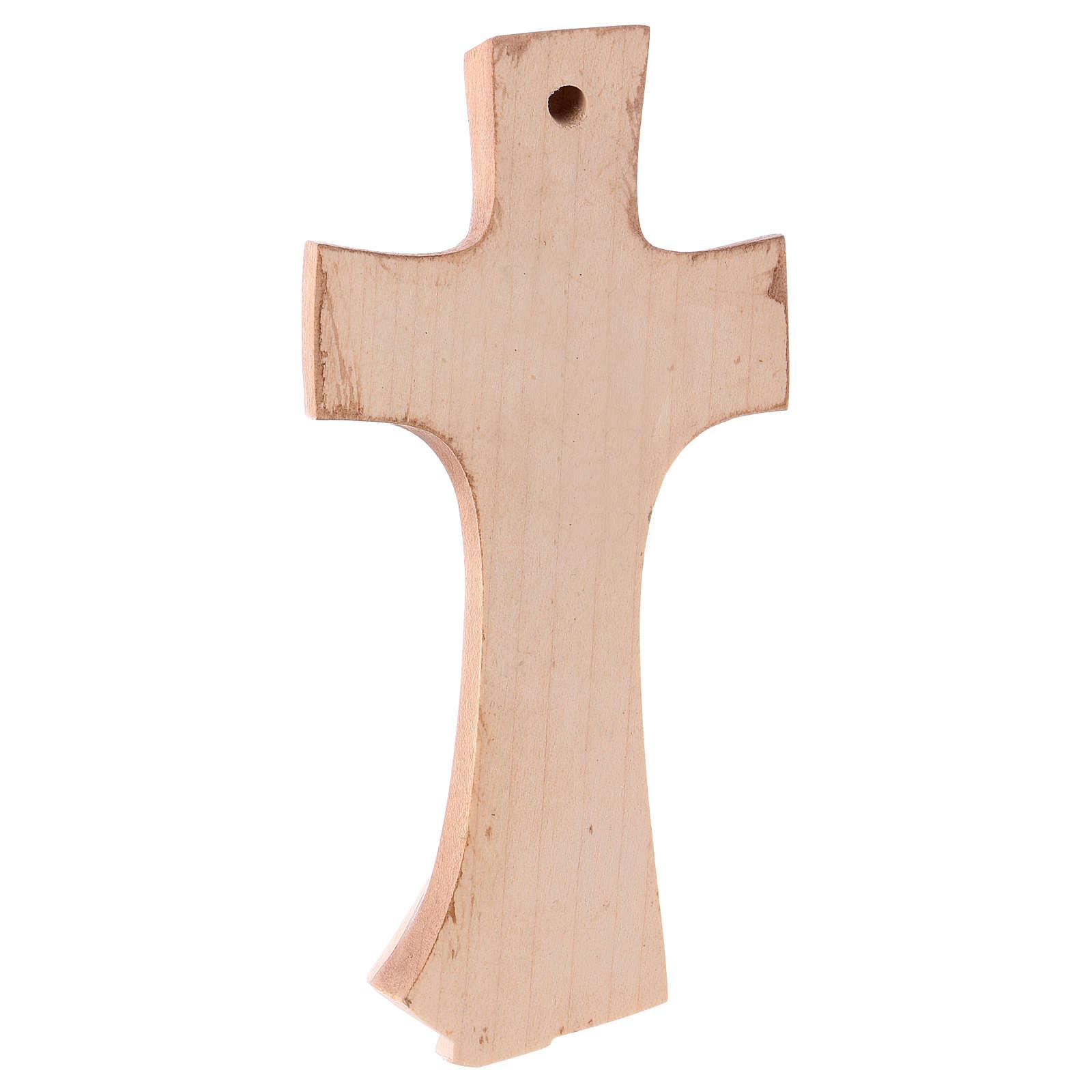 Croce della famiglia Ambiente Design legno Valgardena brunita 3 colori 4