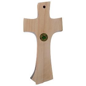 Croce della famiglia Ambiente Design legno Valgardena dipinta s4