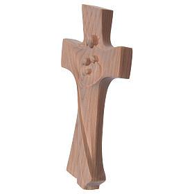 Kreuz der Familie Grödnertal Kirschbaumholz Ambiente Design natur s2