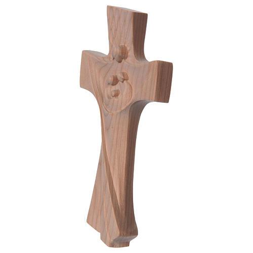 Kreuz der Familie Grödnertal Kirschbaumholz Ambiente Design natur 2
