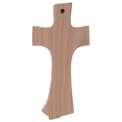 Kreuz der Familie Grödnertal Kirschbaumholz Ambiente Design natur 3