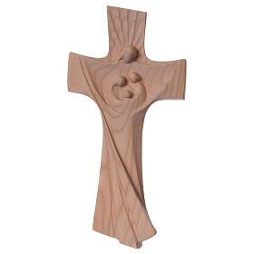 Croce della famiglia Ambiente Design legno ciliegio Valgardena naturale s1
