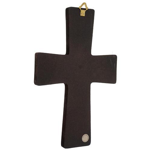 Cruz Estampa Pasión de Rupnik 32x22 cm 4