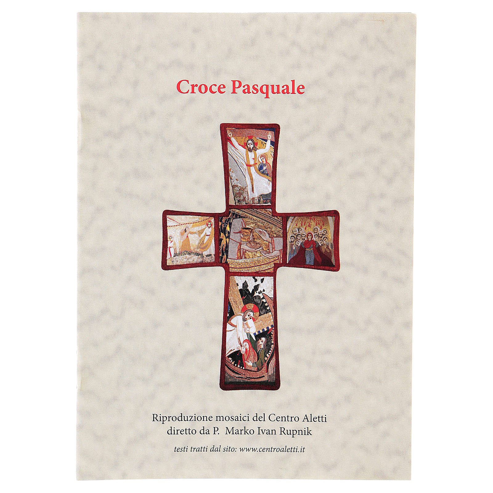 Cross with Passion of Jesus Christ by Rupnik 35x25 cm 4