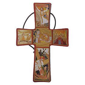 Crocetta Passione di Padre Rupnik 10x5 s1
