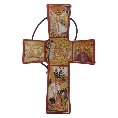 Crocetta Passione di Padre Rupnik 10x5 1
