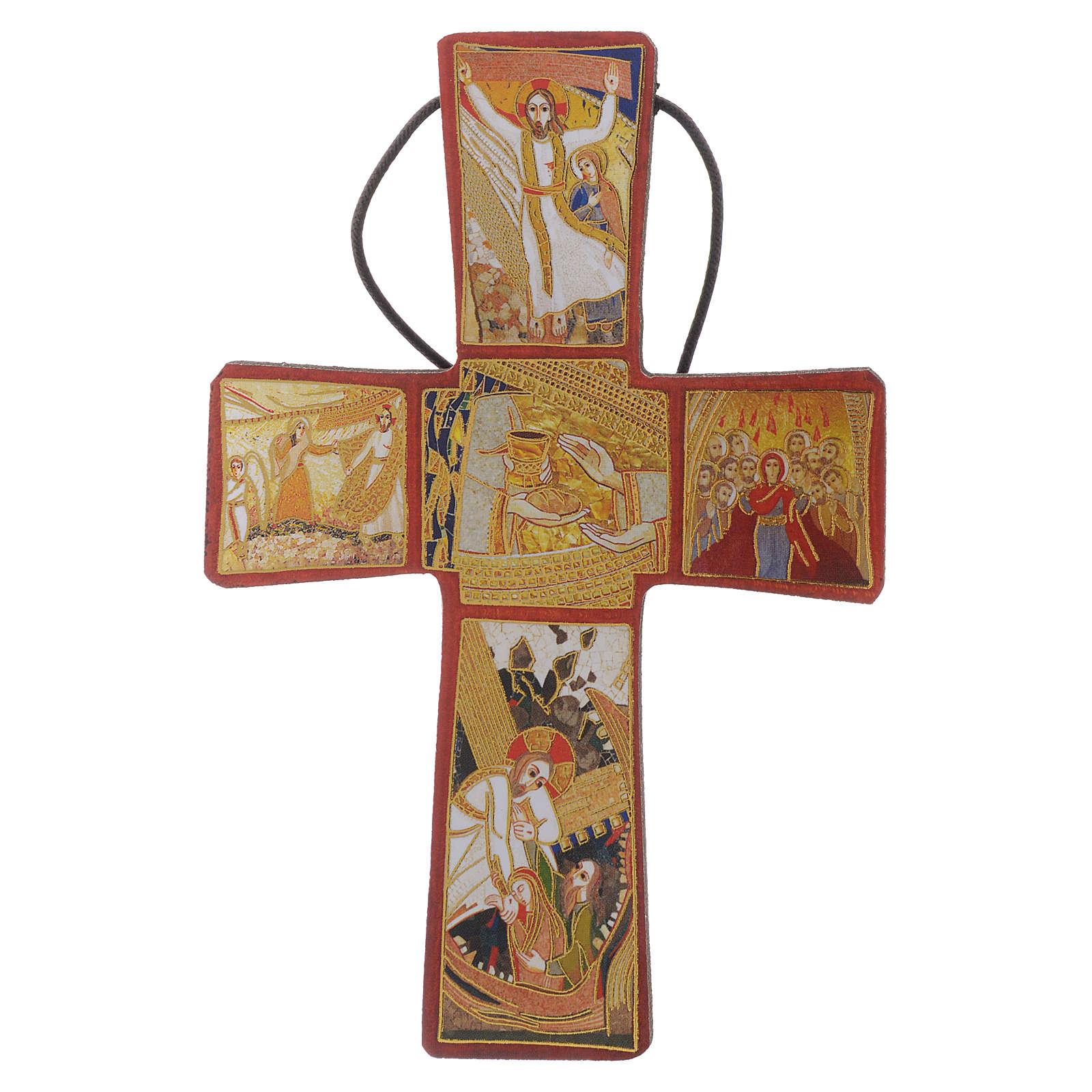 Croce della Passione di Gesù Padre Rupnik 10x15 4