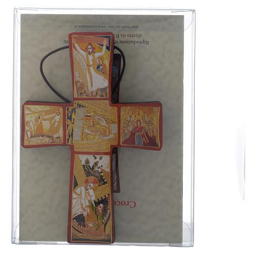 Croce della Passione di Gesù Padre Rupnik 10x15 2