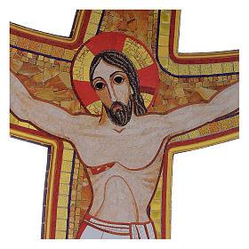 Croce della Misericordia legno Padre Rupnik 45x65 s2