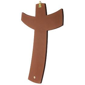 Croce della Misericordia legno Padre Rupnik 45x65 s3
