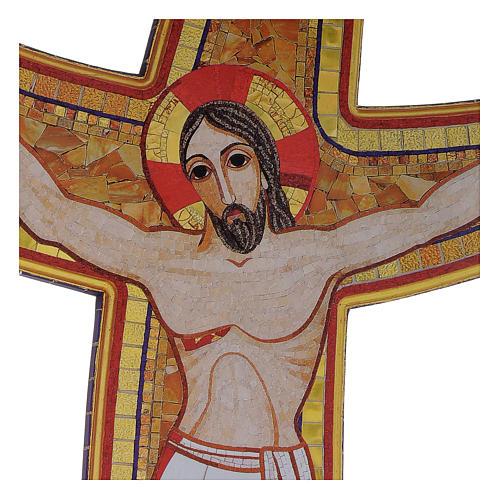 Croce della Misericordia legno Padre Rupnik 45x65 2