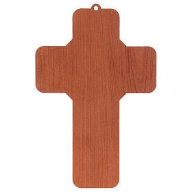 Croce in mdf presepe 12x18 cm  s2