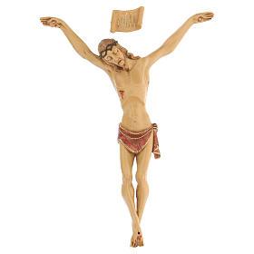 Crucifijo con cuerpo de resina Fontanini 21 cm s1