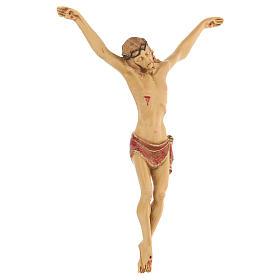 Crucifijo con cuerpo de resina Fontanini 21 cm s3