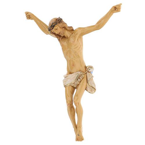 Cristo de cruz Fontanini 21 cm de resina 2