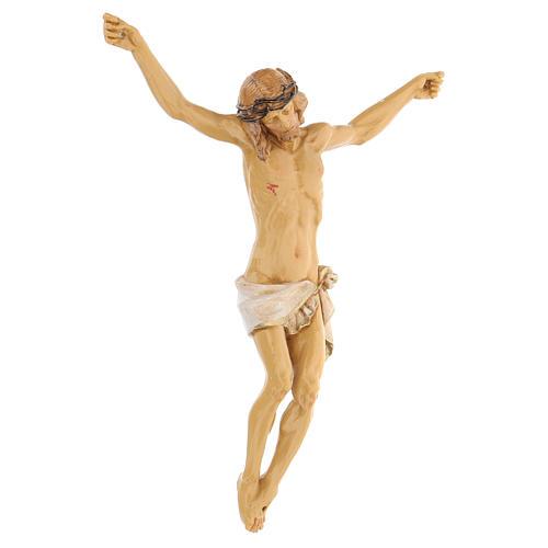 Cristo de cruz Fontanini 21 cm de resina 3