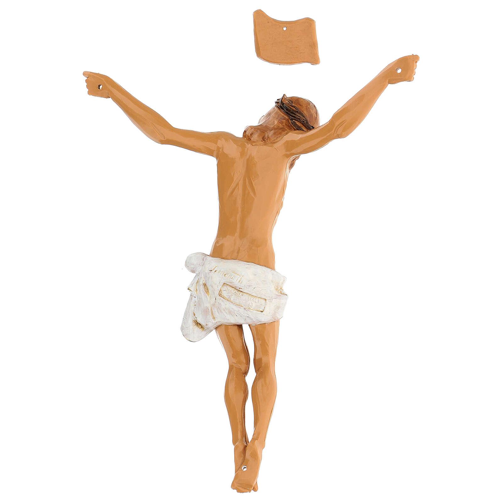 Christ en croix Fontanini 21 cm résine 4
