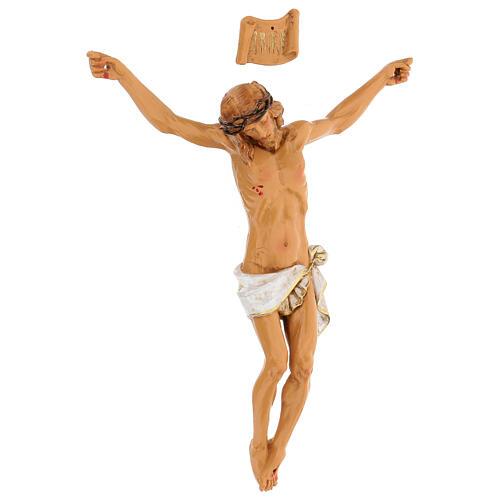 Christ en croix Fontanini 21 cm résine 2