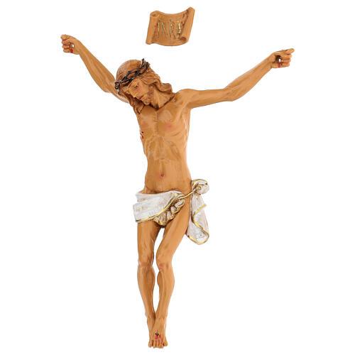 Christ en croix Fontanini 21 cm résine 3